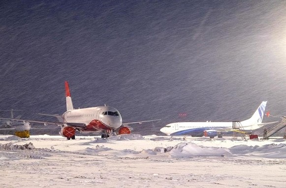In the US due to snowfalls canceled more than 8 thousand flights