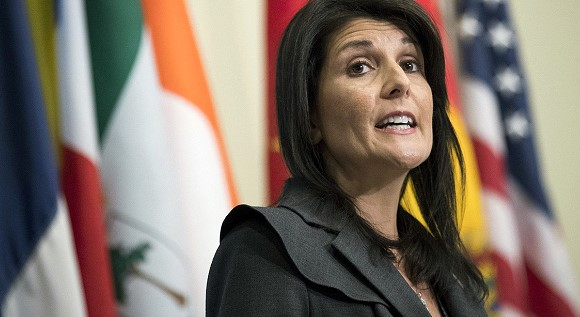 Haley declared a threat of deterioration of relations between the US and Russia