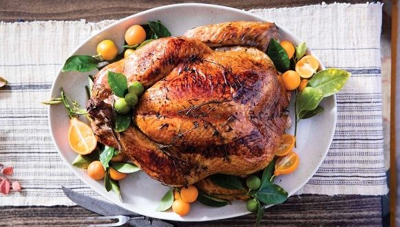 The US sent its military abroad almost 10 thousand turkeys on Thanksgiving Day