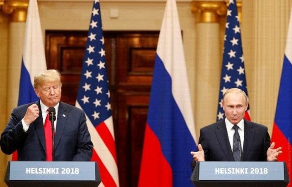 The White house announced bilateral talks Trump and Putin
