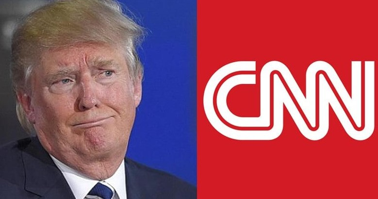Trump said that CNN creates the wrong information image of the United States in the world