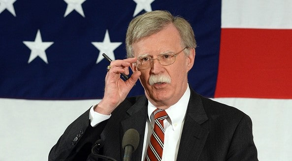 Bolton urged to ban the import of goods created with the help of stolen us technology