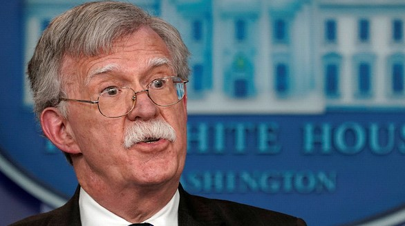 Bolton said he will discuss in Turkey and Israel the fight against ISIS after the US withdrawal from Syria