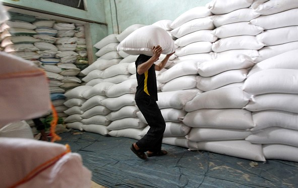 China has allowed the import of rice from USA