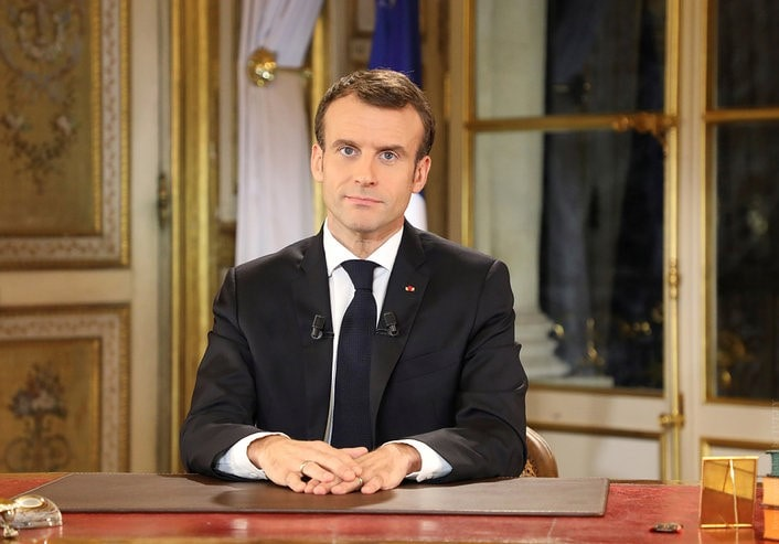 Raising the minimum wage and the state of emergency. Macron appealed to the French