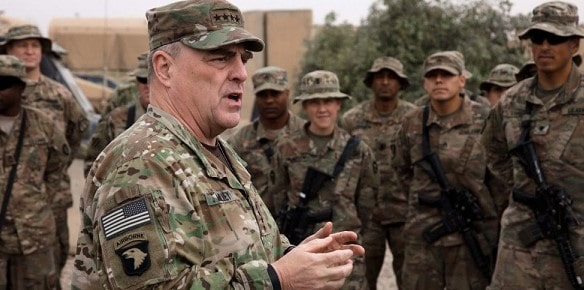 Mark Milley will head the Joint Chiefs of Staff