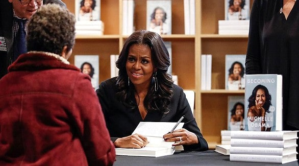 Michelle Obama's book became the best-selling in 2018 in the United States