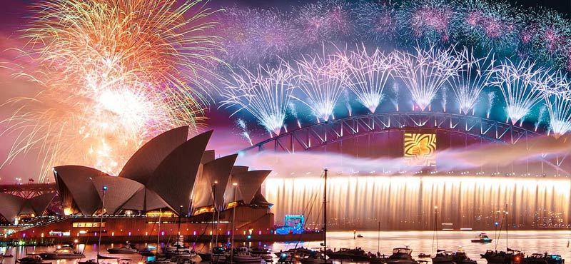 The 25 best places to celebrate the New Year