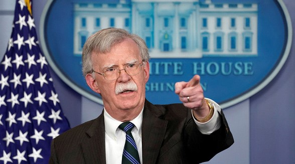 Bolton asked the Pentagon for information about the possibility of the US strike on Iran