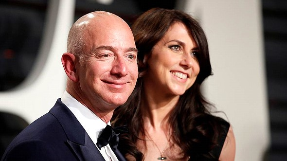 The founder of Amazon said that he divorced his wife after 25 years of marriage