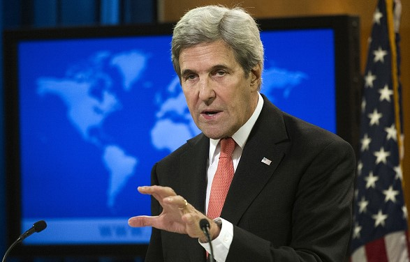 John Kerry believes that the US may not survive another presidential term of Trump