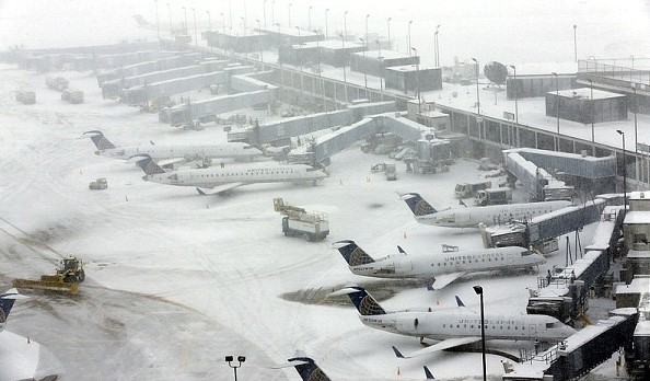 Snowfalls in the United States led to the cancellation of more than 6.7 thousand flights