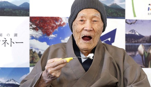 The oldest man on the planet died