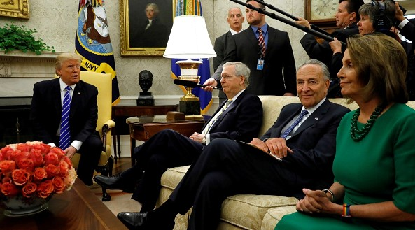Trump and the US Congress agreed on temporary financing of the government