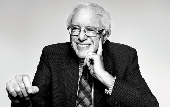 A Senator Bernie Sanders declared intention to participate in elections of the President of the United States