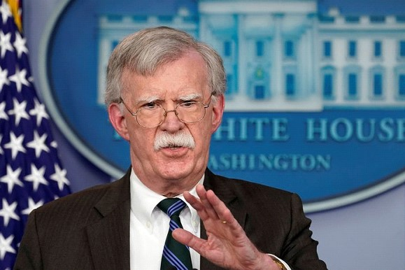 Bolton delivered an ultimatum to the Venezuelan army