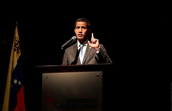 In Venezuela Juan Guaido were suspected of falsifying his statement of assets