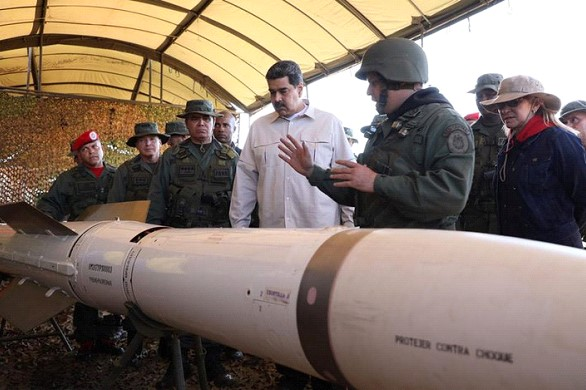 Maduro opened the largest military exercises in the history of Venezuela