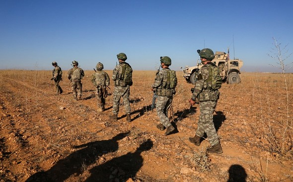 """The US repThe US reported on the decision to leave in Syria peacekeeping contingentorted on the decision to leave in Syria """"peacekeeping contingent"""""""