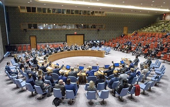 The United States and Russia have submitted to the UN Security Council their draft resolutions on Venezuela