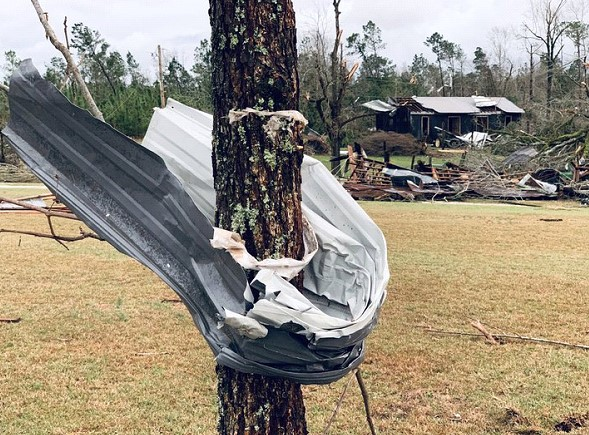 Tornadoes in Alabama: death toll rises