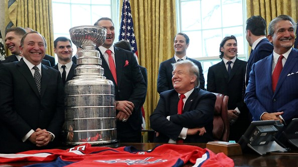 Ovechkin met with Trump in the White House