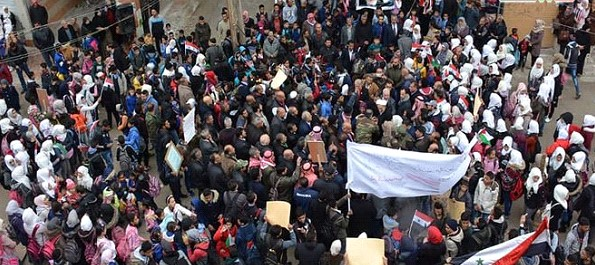 Protests continue against the statements of the President of the United States Trump about the occupied Golan