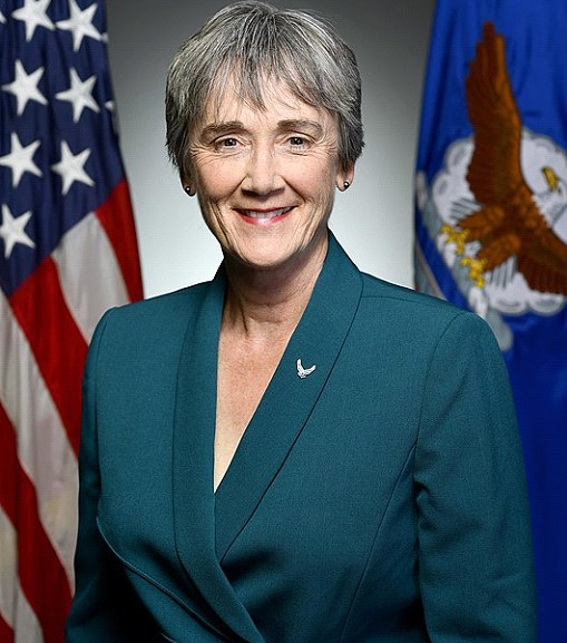 The US air force Secretary Heather Wilson confirmed that she will resign