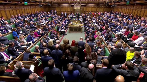 """The House of Commons rejected all eight options for """"Brexit"""""""