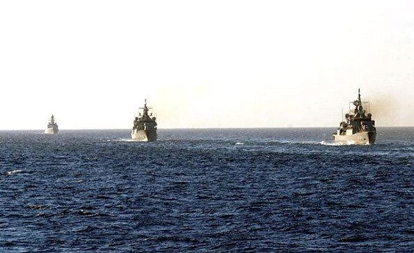 The group of NATO ships entered the Black sea