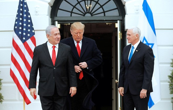 The main thing about the US recognition of Israel's sovereignty over the Golan