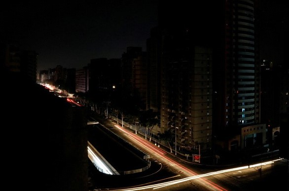There was already a third large-scale power outage in Venezuela
