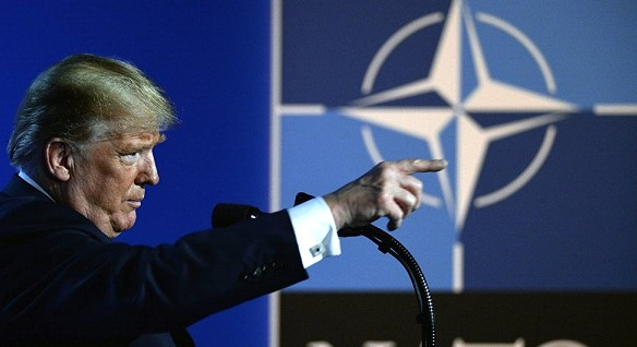 Donald Trump demanded NATO members to continue to increase defense spending