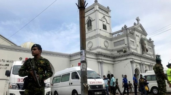 Explosions in churches and hotels in Sri Lanka during Easter
