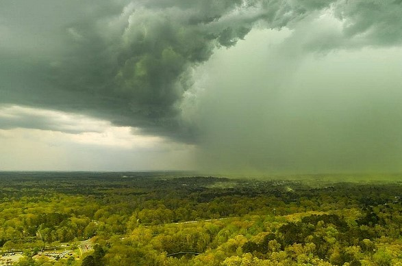Five people killed due to storms in the South of the United States