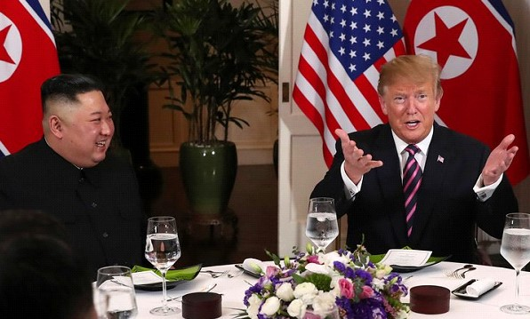 Kim Jong-UN said he was ready to hold the third summit with Trump
