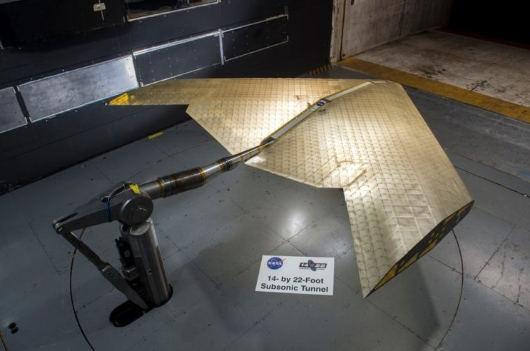 NASA has developed wings for the new generation of aircraft