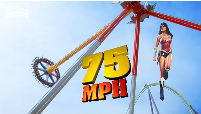 On the weekend in the amusement park Six Flags Great Adventure opens a new season