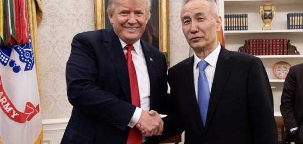 The White House held a meeting of the US President Donald Trump with Vice Prime Minister of the state Council of China Liu Khe