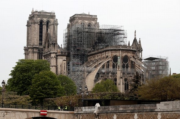 The cause of the fire in Notre Dame named