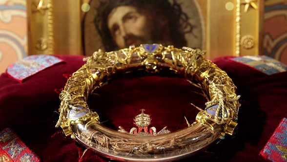 the crown of thorns of Christ