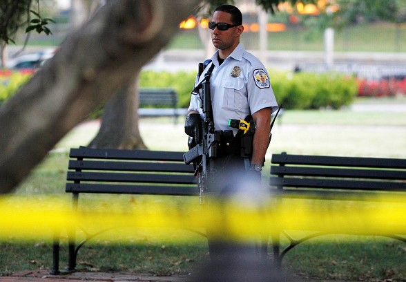 A student opened fire at an American University
