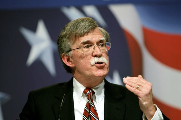 Bolton announced the US plans to sever ties between Cuba and Venezuela