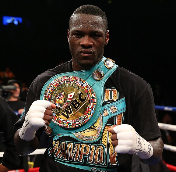 Boxer Wilder defended the title of world champion