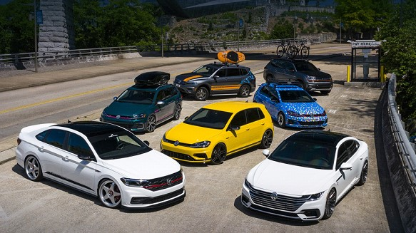 Carmaker Volkswagen has prepared seven concepts for the United States