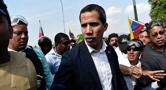 Guaido called the date of the meeting of their representative with the Southern command of the United States