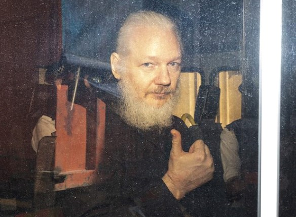 In London sentenced Julian Assange