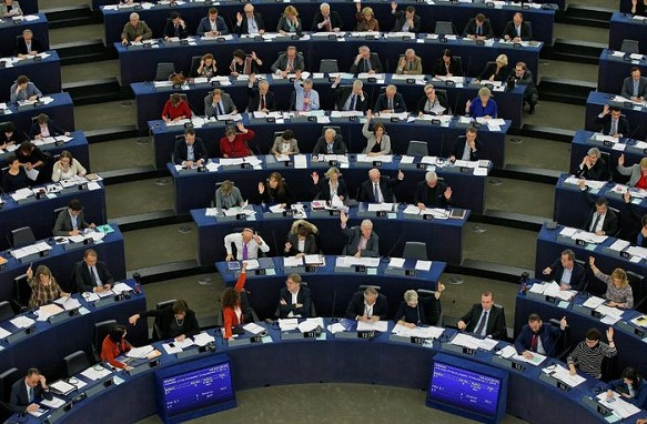 Nationalists and eurosceptics strengthened their positions in the European Parliament