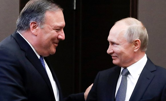 Pompeo called three points of convergence between Russia and the United States