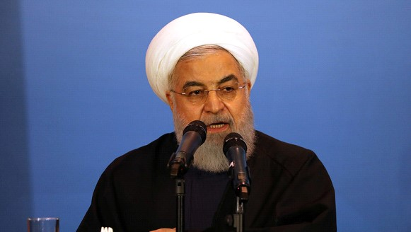 Rouhani called the condition of negotiations with the United States